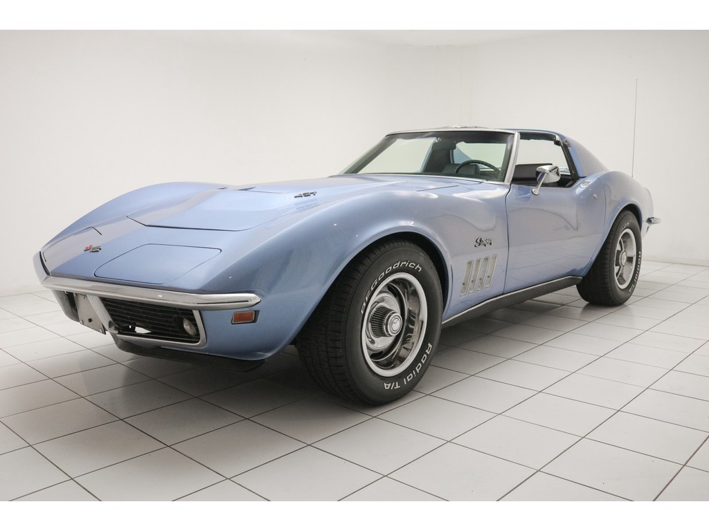 Occasion Chevrolet Corvette Lemans Blue C3 Stingray Targa 1969