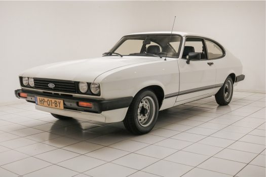 Ford Capri 1600 L Diamond White 1982 3
