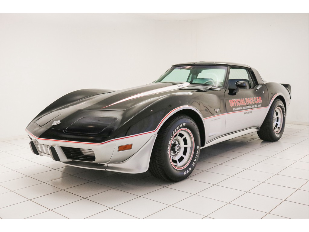 Occasion Chevrolet Corvette Black / Silver C3 Pace Car Edition L82 1978