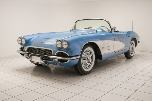 Chevrolet Corvette C1 Convertible Jewel Blue / White 1961 24