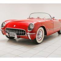 Chevrolet Corvette C1 Roadster Sportsman Red 1954 1