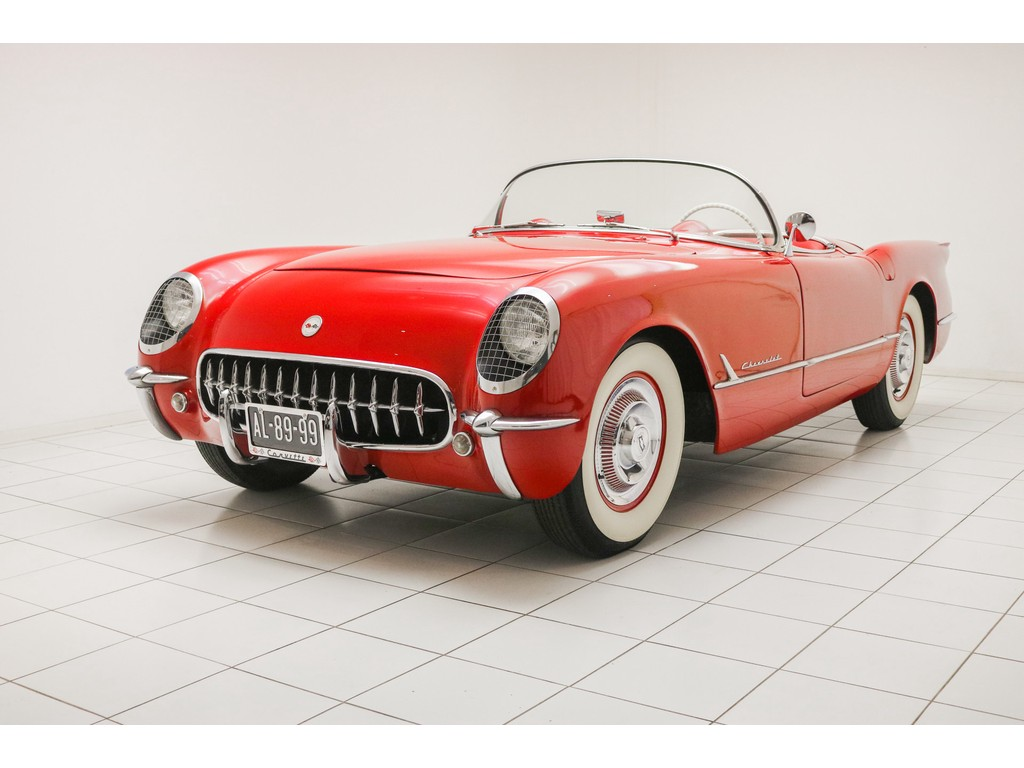 Occasion Chevrolet Corvette Sportsman Red C1 Roadster 1954