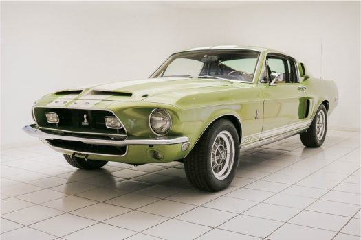 Ford Mustang 1968 8