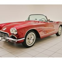 Chevrolet Corvette C1 Convertible Monterey Red Metallic 1958 1