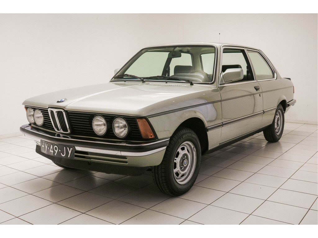 Occasion BMW 3 Serie Opal Grünn Metallic 318i E21 1982