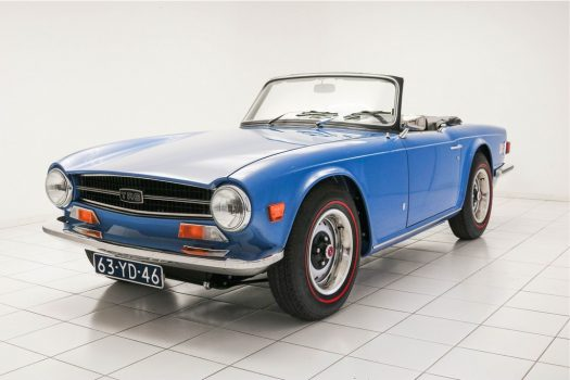 Triumph TR 6 Convertible French Blue 1973 1