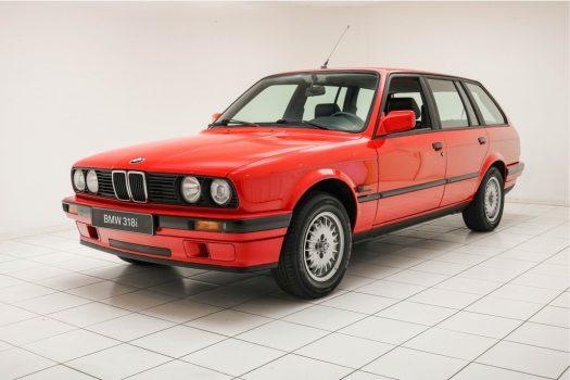 BMW 3 Serie 318i Touring BMW-brilliantrot 1990 41