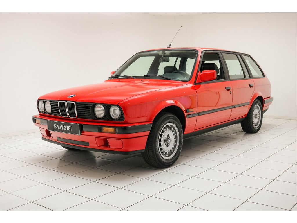 Occasion BMW 3 Serie BMW-brilliantrot 318i Touring 1990