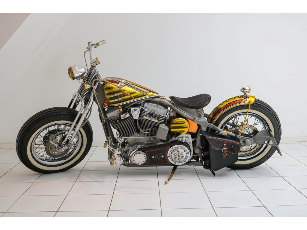 Occasion Harley-Davidson   FLSTi Heritage Springer BSB Screaming Eagle Bobber 2002