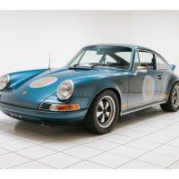 Porsche 911 T 3.3 Turbo Outlaw Petrol Blue 1970 1