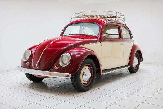 Volkswagen Kever 1500 Oval 1956 71