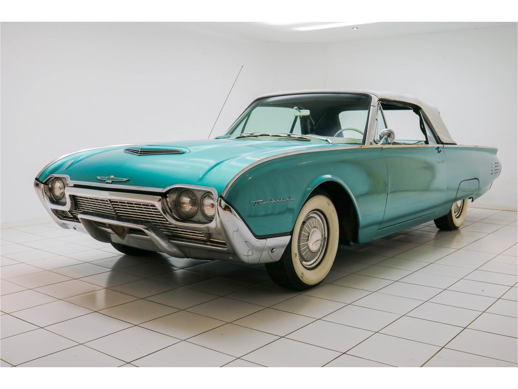 Occasion Ford Thunderbird Green Convertible 1961