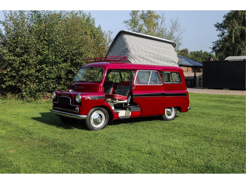 Occasion Ford Transit Dark Red Bedford CA Dormobile Caravan 1961