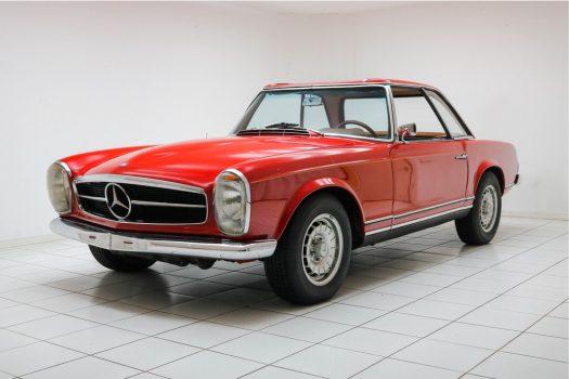 Mercedes-Benz SL-Klasse 230 SL Pagode Signal Rot 1965 2