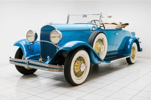 "Chrysler 75 Roadster ""Le Mans"" Turquoise 1929 18"