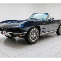 Chevrolet Corvette C2 Sting Ray Convertible Daytona Blue 1964 1