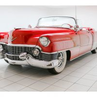 Cadillac Eldorado Convertible Red 1954 1