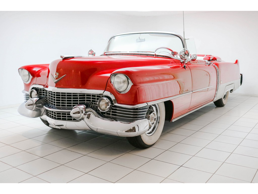 Occasion Cadillac Eldorado Red Convertible 1954
