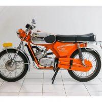 Zündapp 517-35 Water cooled Speed Orange 1973 1