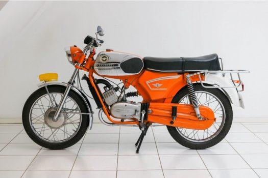Zündapp 517-35 Water cooled Speed Orange 1973 3