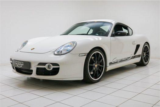 Porsche Cayman S Sport Limited Edition No. 183/700 Carrera Weiss 2009 4