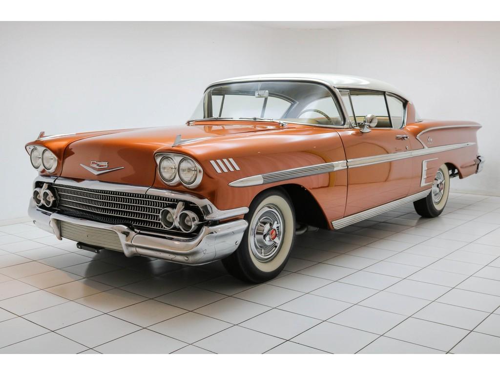 Occasion Chevrolet Impala Sierra Gold Tri Power Big Block 1958