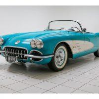 Chevrolet Corvette C1 Convertible 504A Tasco Turquoise 1958 1