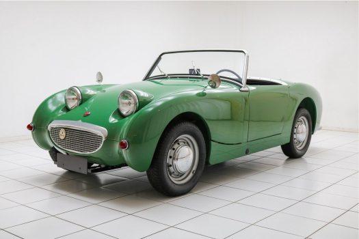 "Austin Healey Sprite MK1 ""Frog Eye"" Green 1960 48"
