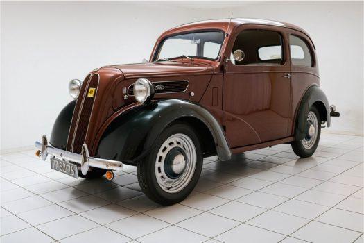 Ford Anglia Popular Copper Brown 1952 3