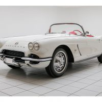 Chevrolet Corvette C1 Convertible Ermine White 1962 1