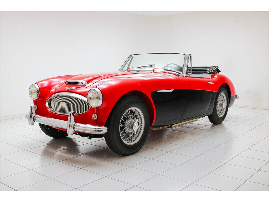 Occasion Austin Healey 3000 Colorado Red MKII BJ7 1962