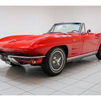 Chevrolet Corvette C2 Sting Ray Convertible Riverside Red 1964 1