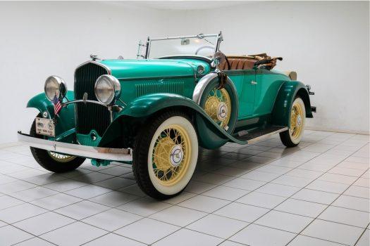 DeSoto SA 2/4-Passenger Roadster Turquoise 1931 1