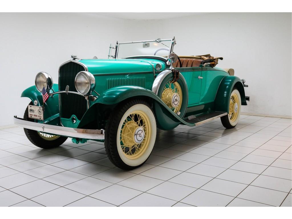 Occasion DeSoto SA Turquoise 2/4-Passenger Roadster 1931