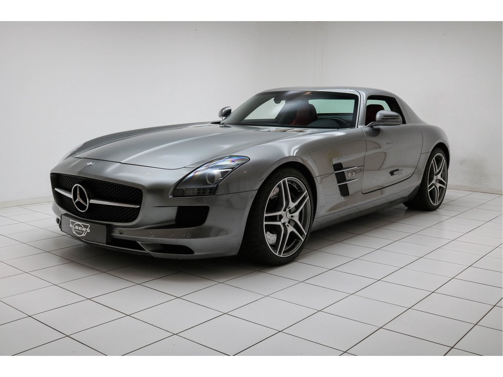 Occasion Mercedes-Benz SLS Middle Gray Himalayas Coupé 6.3 AMG 2010