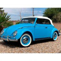 Volkswagen Kever Cabrio Sky Blue 1959 1