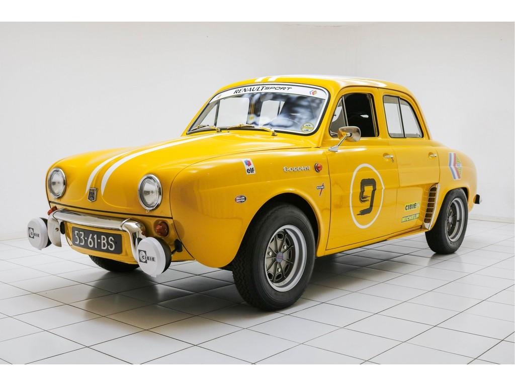 Occasion Renault Dauphine Jaune 356 Gordini R1095 1966